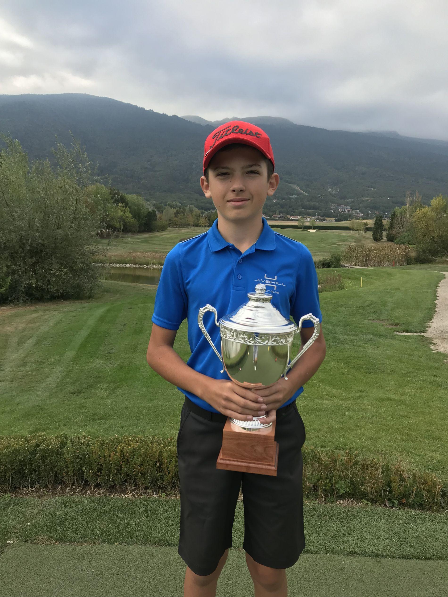 Luca Casini, Champion junior 2019
